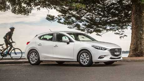 Top choices among private buyers: Mazda3, followed by stablemate CX-5