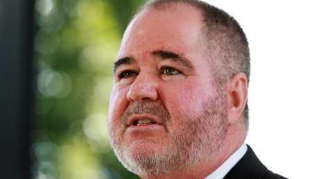 Queensland Teachers' Union president Kevin Bates
