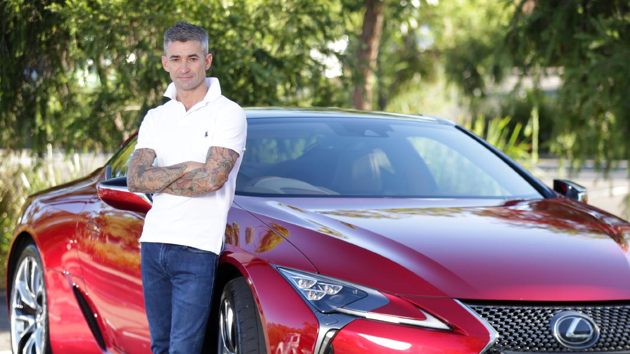 "Corey Brown and Lexus LC500: ""The speed of the thing is amazing."""