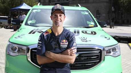 Jamie Whincup earns plenty of his wage from business ventures. Picture: Sarah Reed
