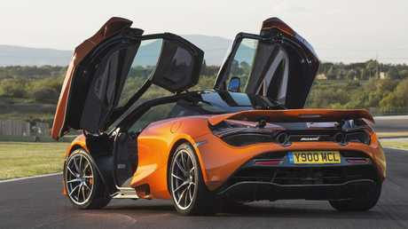 McLaren 720S: Brown became a fan of the brand when riding in Singapore