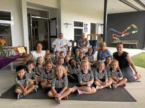 Class act at Rocky kindy opening