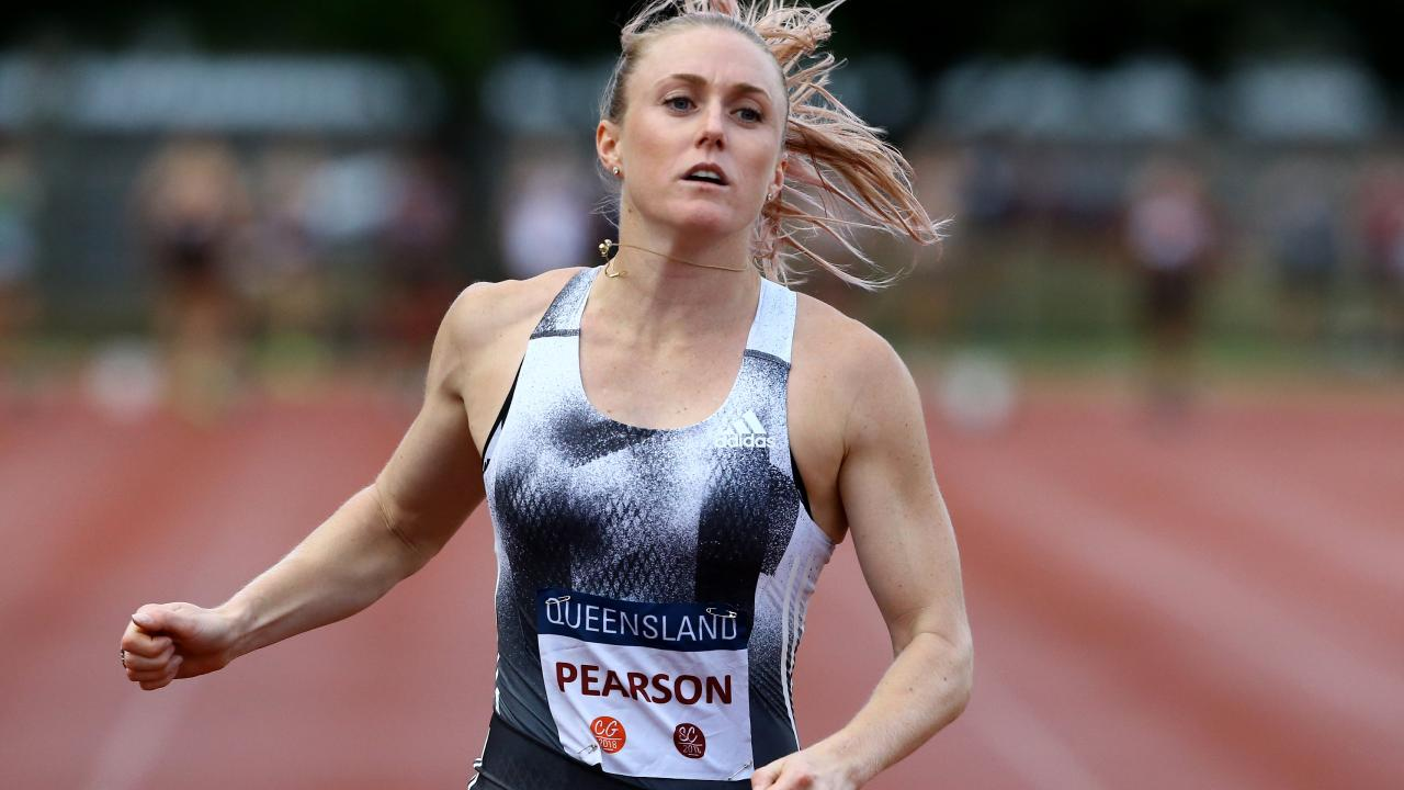 Sally Pearson is building in her athletics comeback. Picture: David Clark