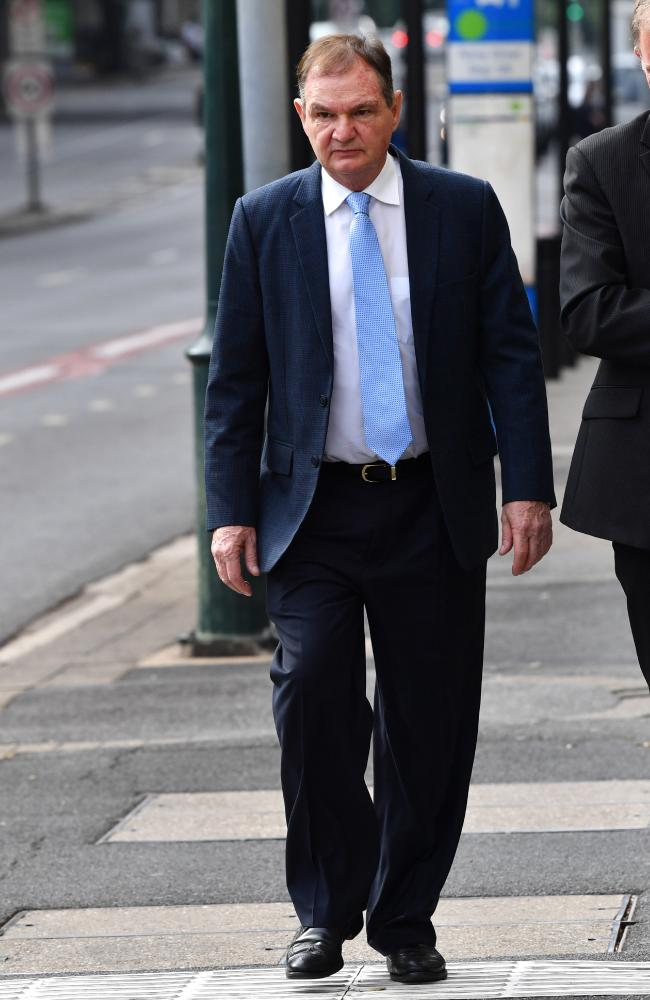 Former Ipswich mayor Paul Pisasale is defending charges including corruption, fraud and perjury following the now-closed investigation. None of the charges relate to the Japan trip allegations. Picture: AAP Image/Darren England