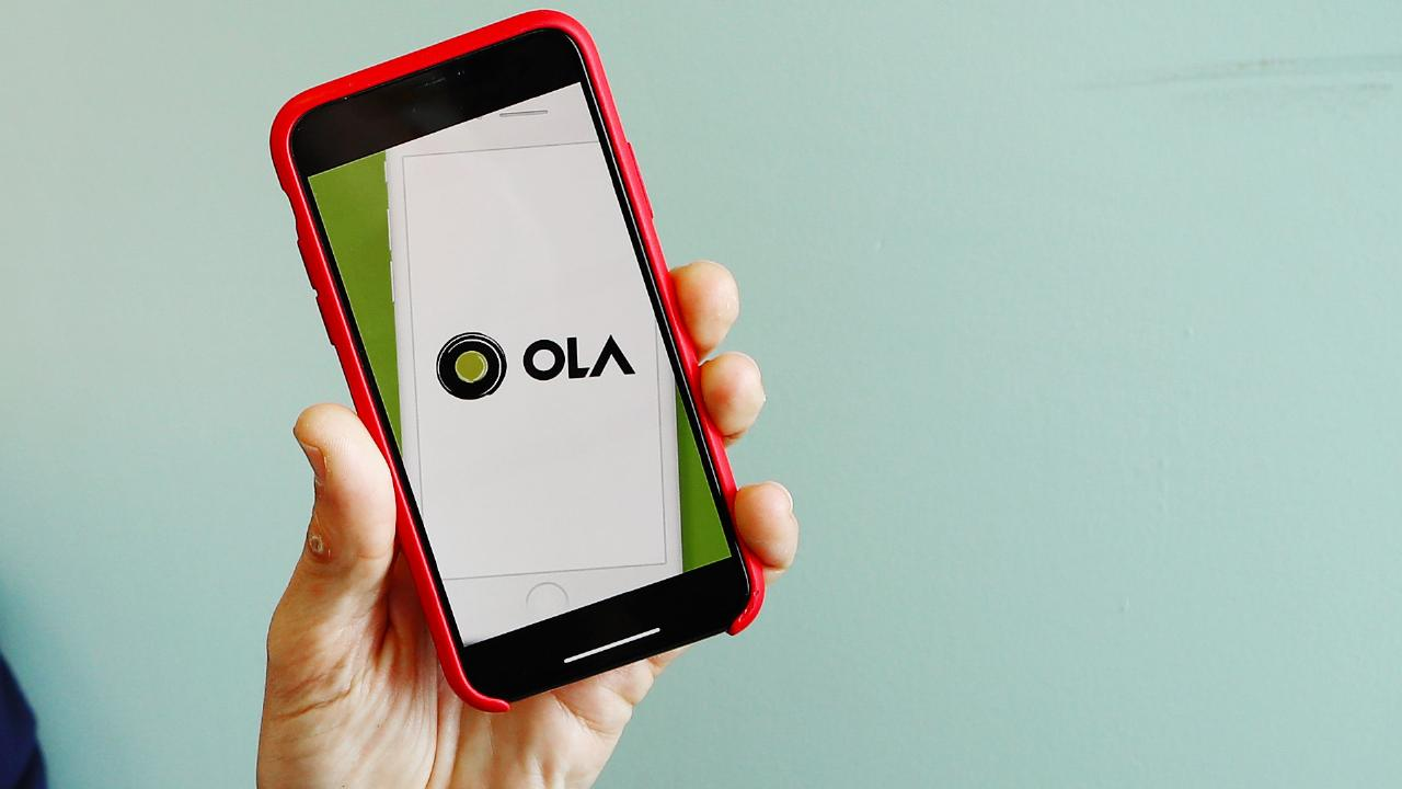 Ride-share newcomer Ola has admitted to overcharging customers for tolls and trips that never happened. Picture: Hollie Adams/The Australian