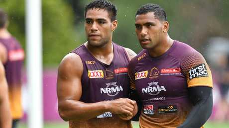Ofahengaue and Pangai offer power but not know-how. Image: AAP Image/Darren England