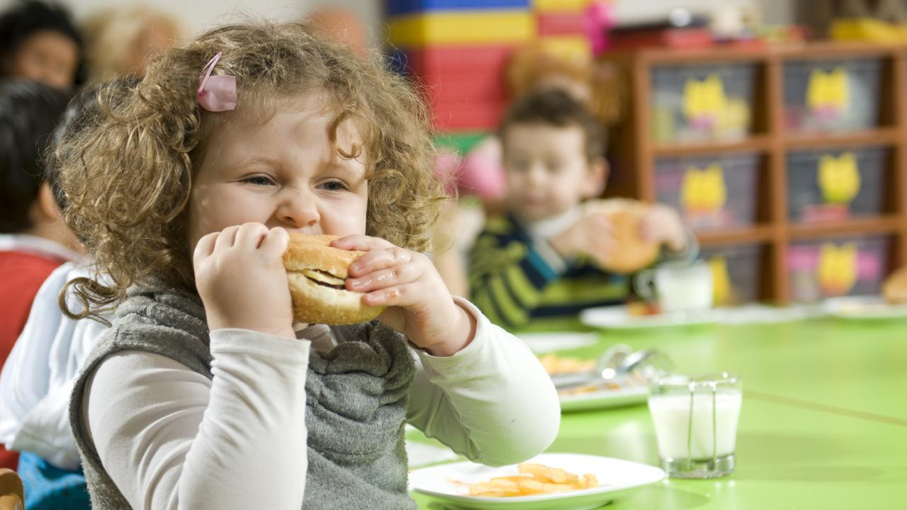 While encouraging kids to eat healthy is a big part of the puzzle, there's a whole other aspect we need to address. Source: iStock