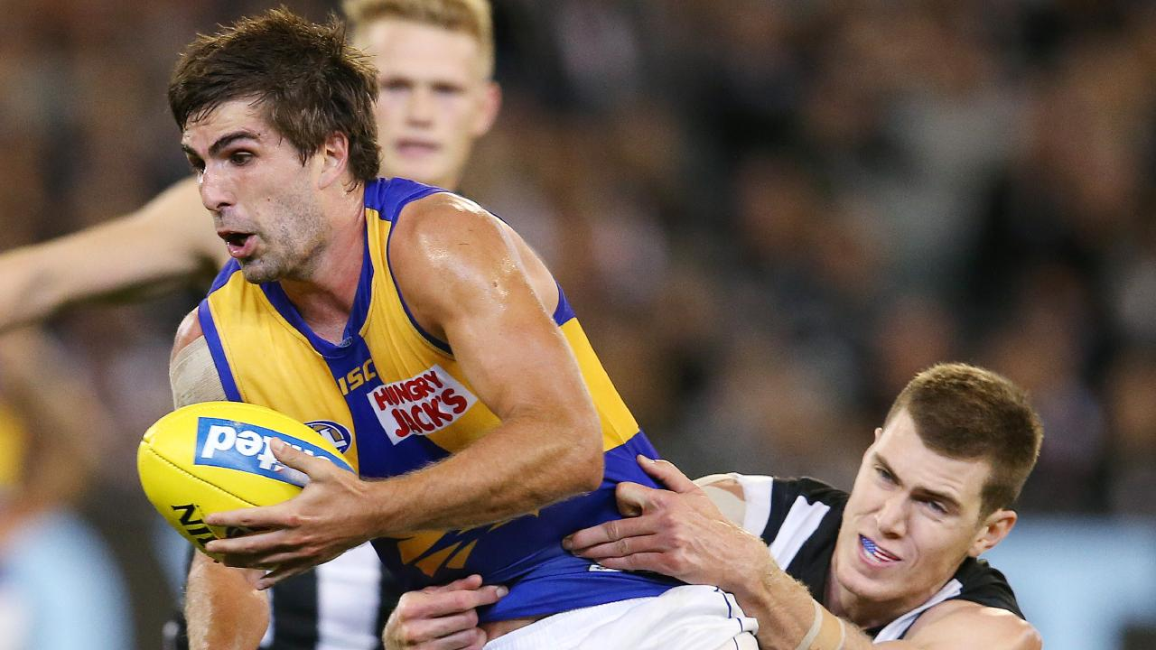 Andrew Gaff was back with a bang. Pic: Michael Klein.