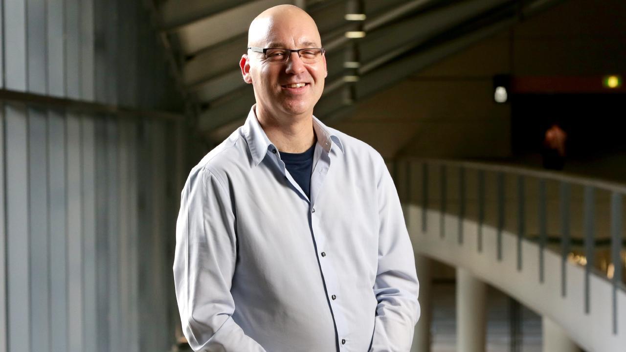 Israeli academic Dr Yuval Dror. Picture: AAP/Steve Pohlner