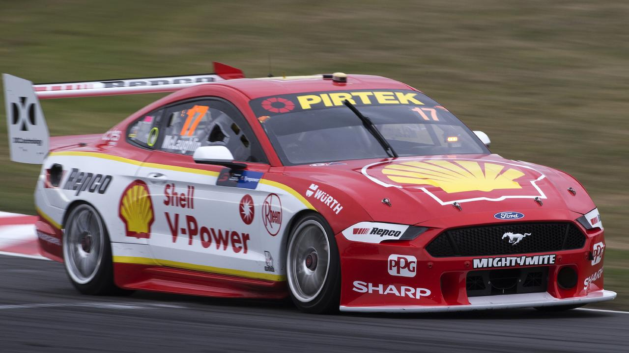 V8 Championship leader Scott McLaughlin has been enjoying a golden run.