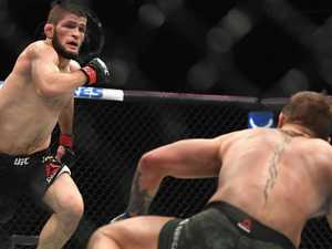 McGregor said nothing in Octagon: Khabib