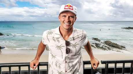 Julian Wilson's sponsors - including Red Bull - make him one of our highest paid. Picture: Nigel Hallett