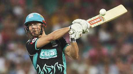 Chris Lynn is another cricketer who earns his money touring T20 competitions. Picture: Brett Hemmings/Getty Images