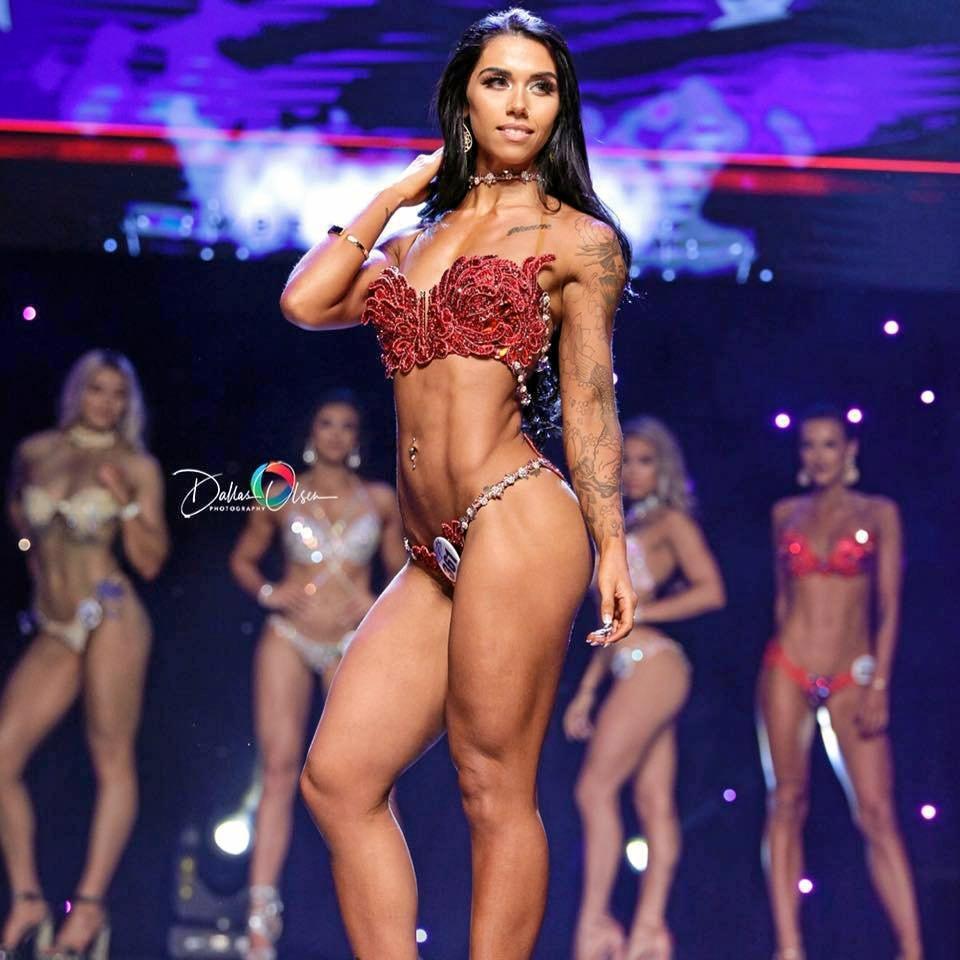 Noosa bodybuilder Dianna-Maree Cairns.