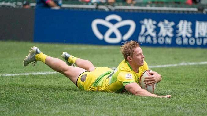 TRY TIME Locky Miller is currently in Hong Kong playing for Australia in rugby sevens
