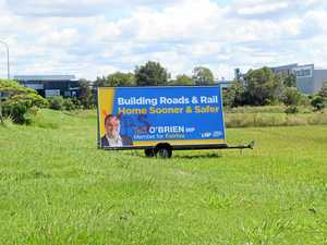 Vandals target pollies' campaign signs with slurs