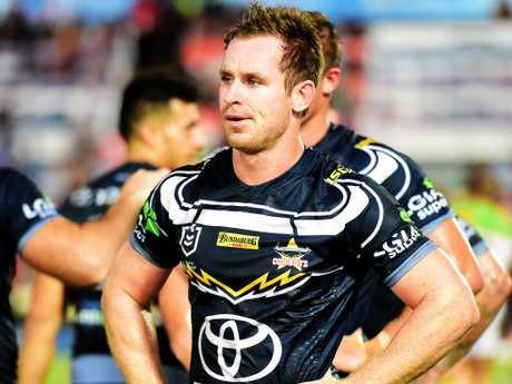 Michael Morgan. NRL; North Queensland Cowboys Vs Canberra Raiders at 1300 Smiles Stadium. Picture: Alix Sweeney