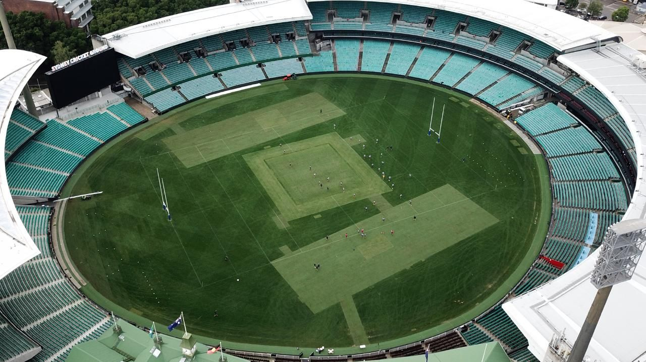 The SCG is carrying a heavy workload as Allianz Stadium gets rebuilt.