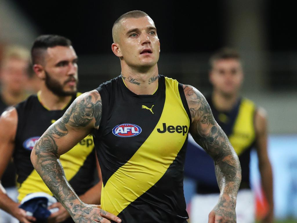 Dustin Martin and his Tigers teammates have struggled in 2019.