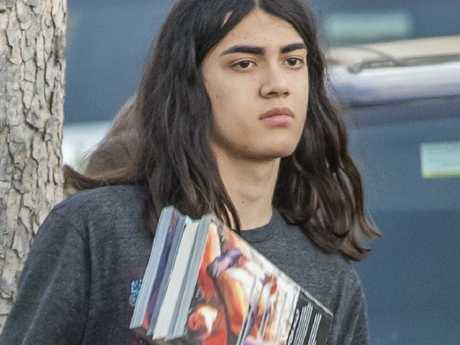 Jackson's youngest son Blanket reportedly stopped talking after Leaving Neverland was released. Picture: BackGrid