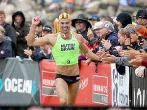 Sydney ironman spoils Shannon Eckstein farewell
