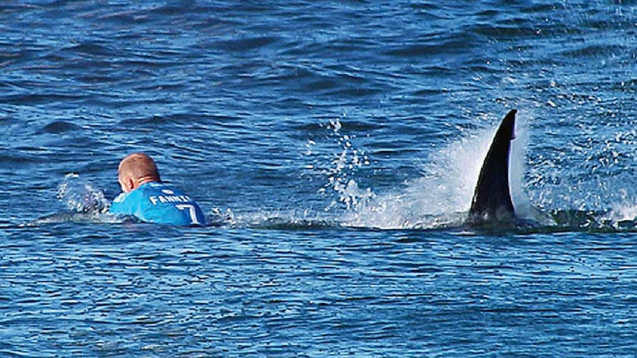 This is a moment Mick Fanning will never forget.