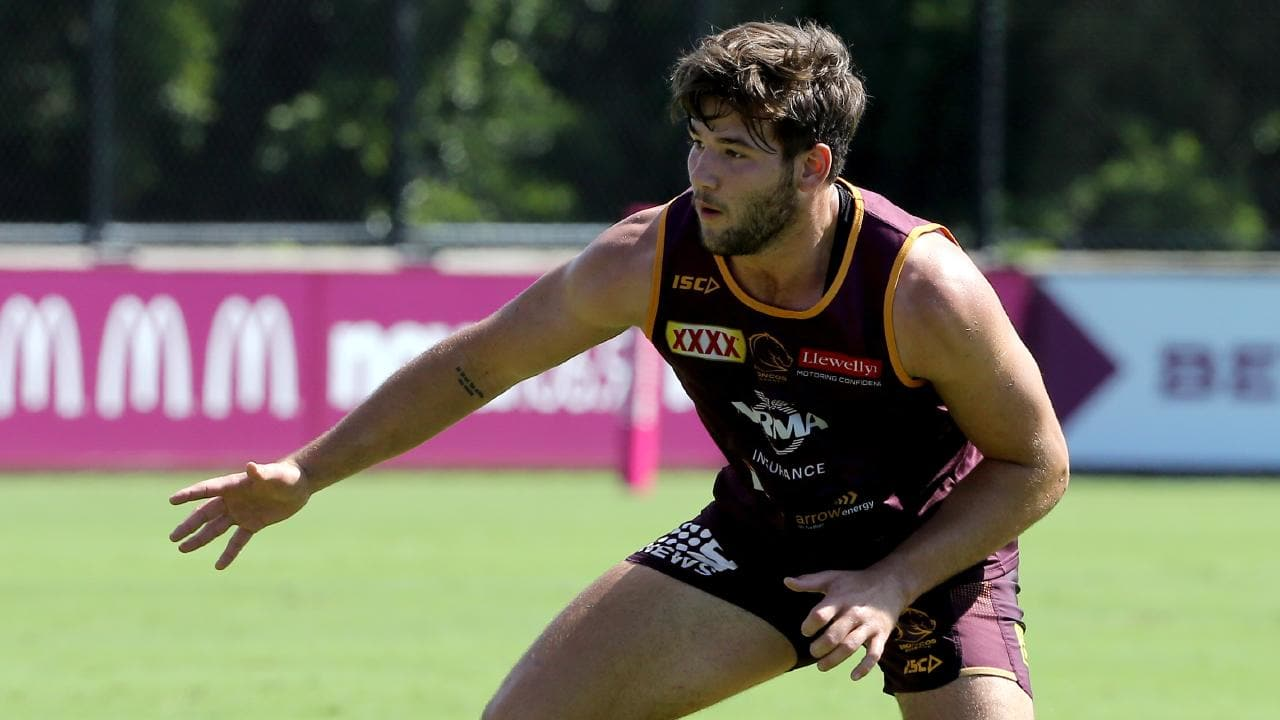 Patrick Carrigan is set to make his NRL debut for the Broncos. Picture: AAP