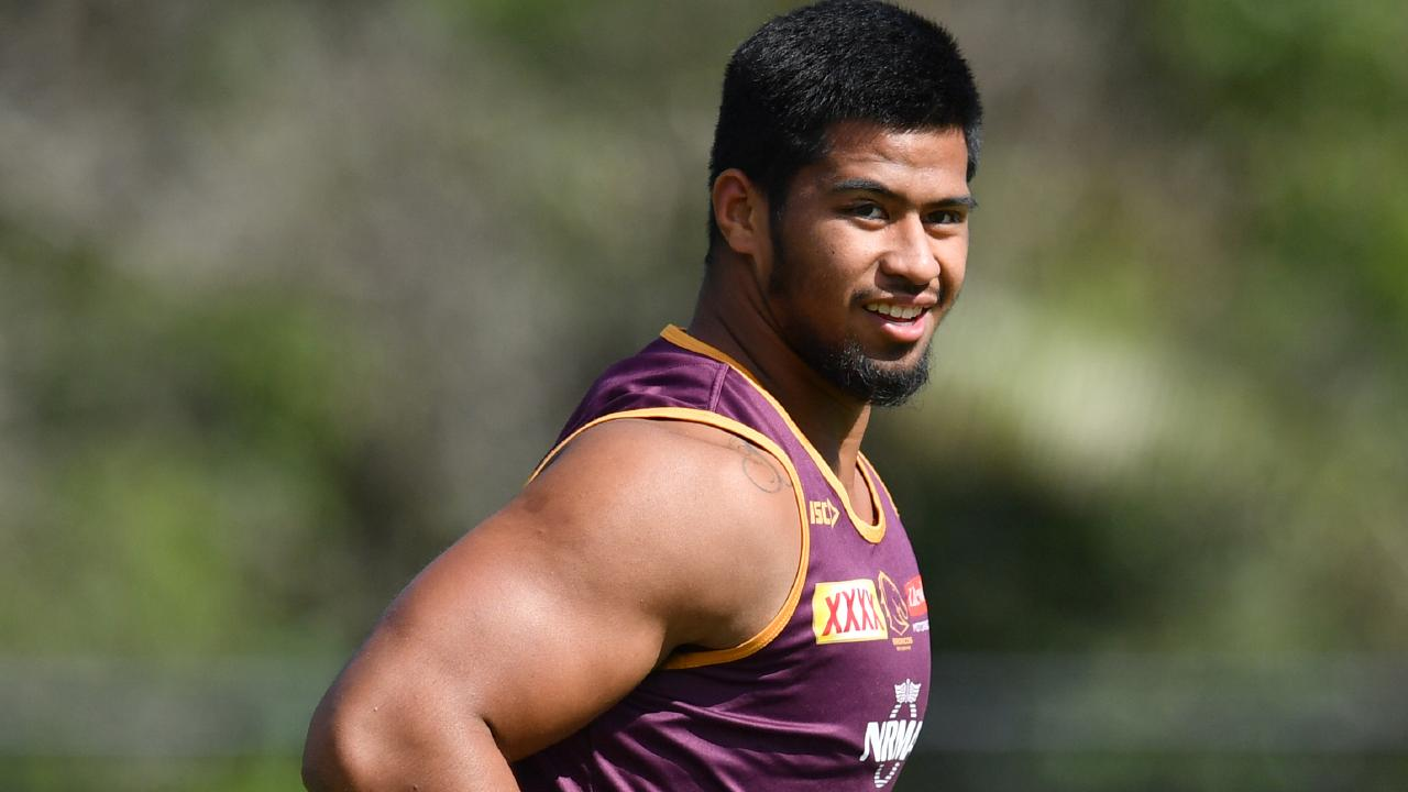 Payne Haas is set to return in a boost for the Broncos. Picture: AAP