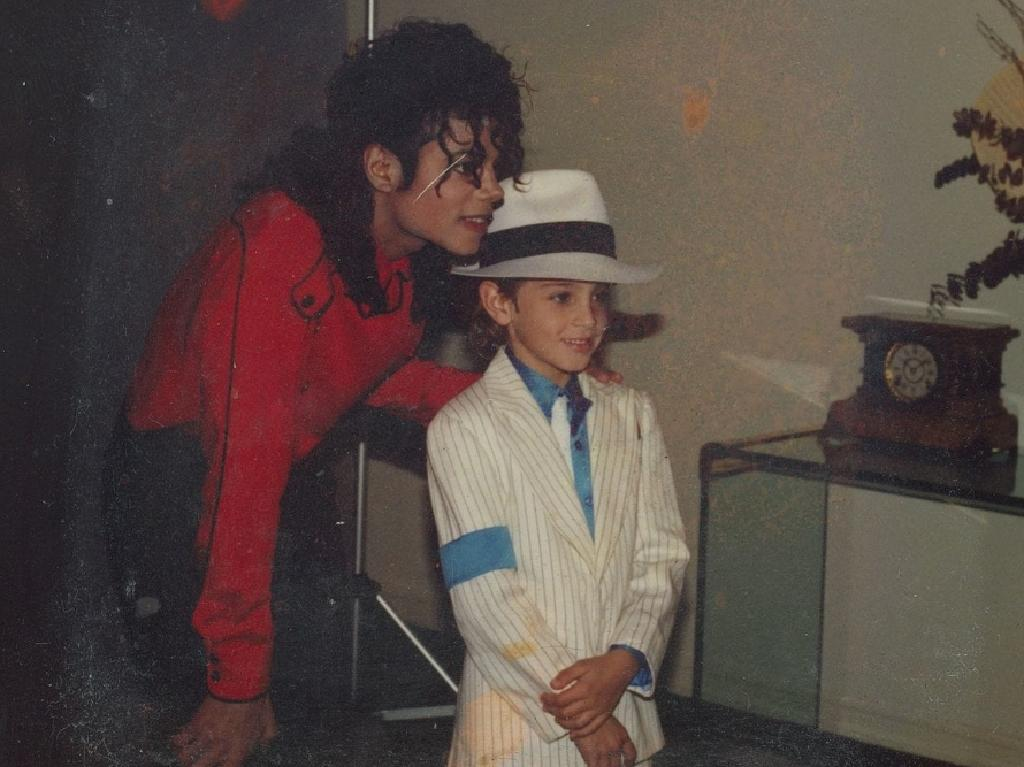 Aussie Wade Robson caught The King of Pop's eye after winning a Michael Jackson dance competition in Brisbane in 1987 at the age of five. Picture: Supplied