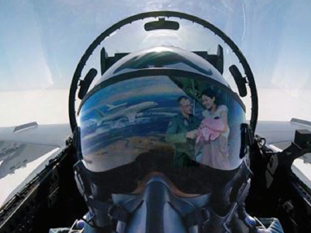 An image used in the new gender doctrine document for the Airforce. Picture: Supplied