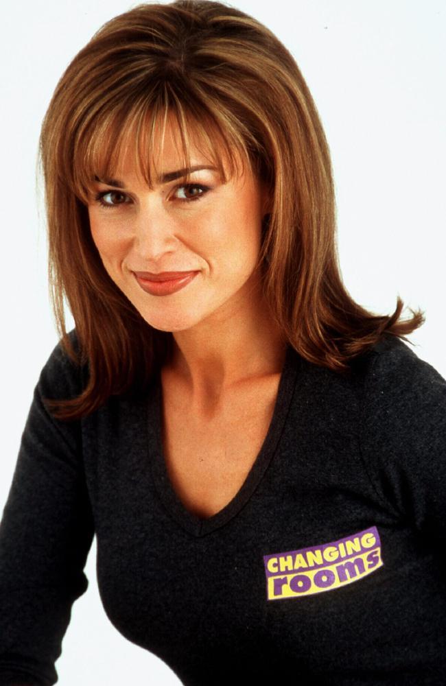 TV presenter Suzie Wilks in her Changing Rooms attire.