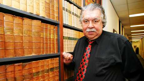Barrister Lloyd McDermott, who was the first Aboriginal to play football for Australia when he was selected in Wallablies team to play All Blacks in 1962, has died aged 79.