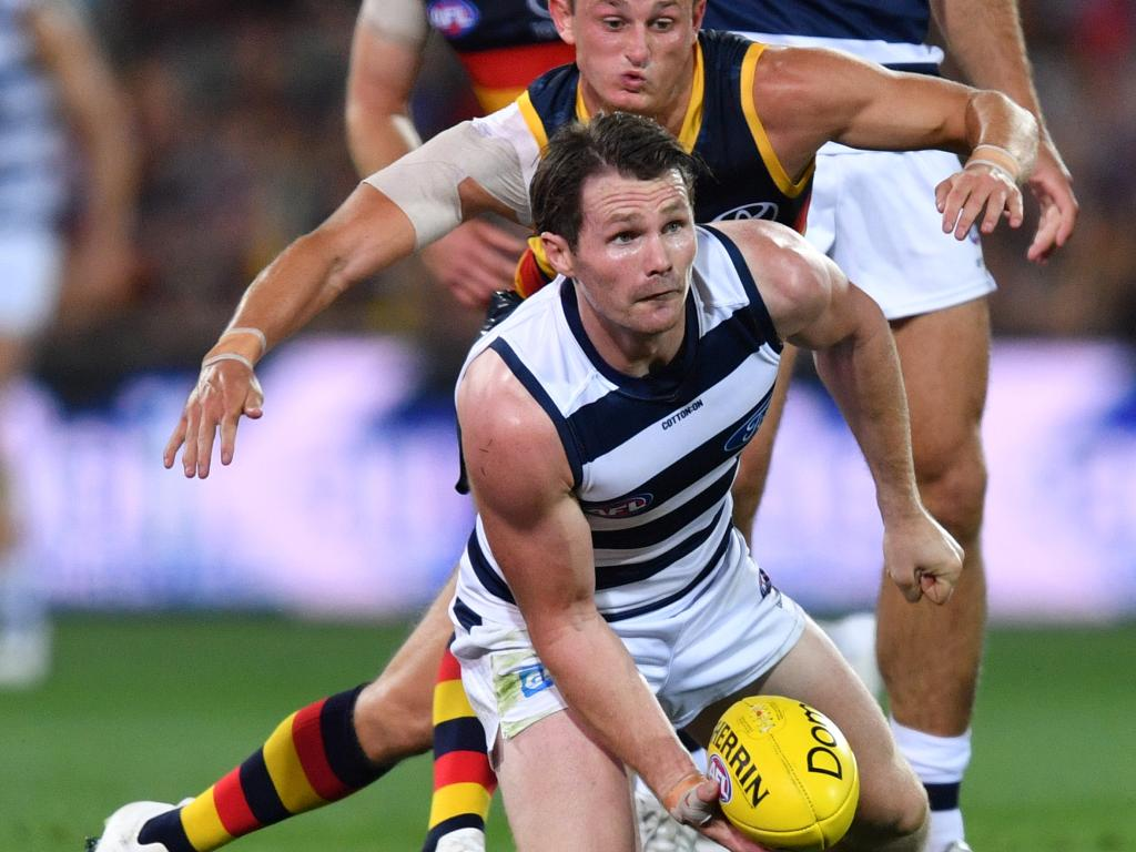 Patrick Dangerfield has been on fire under the new rules.