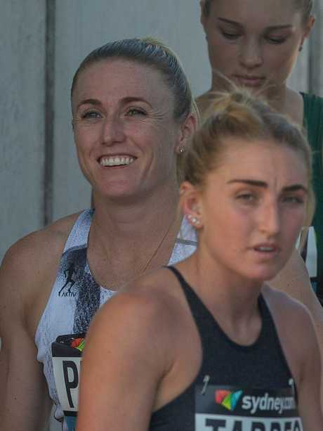 Pearson was all smiles before her heat. Picture: AAP