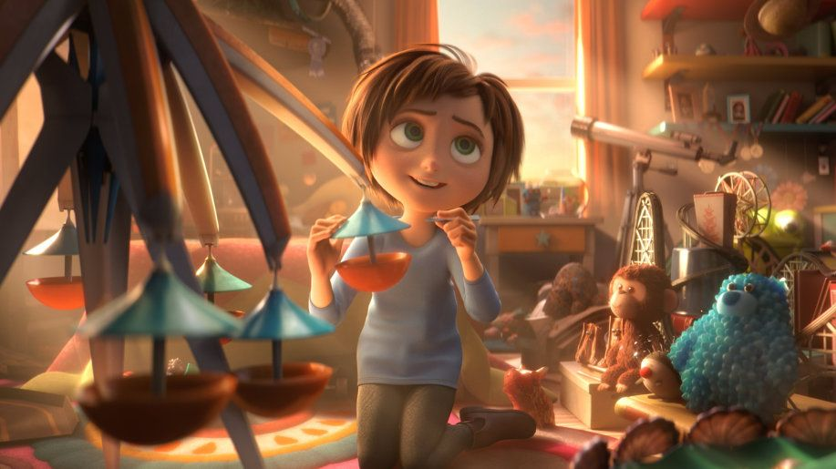 June in a scene from the movie Wonder Park.