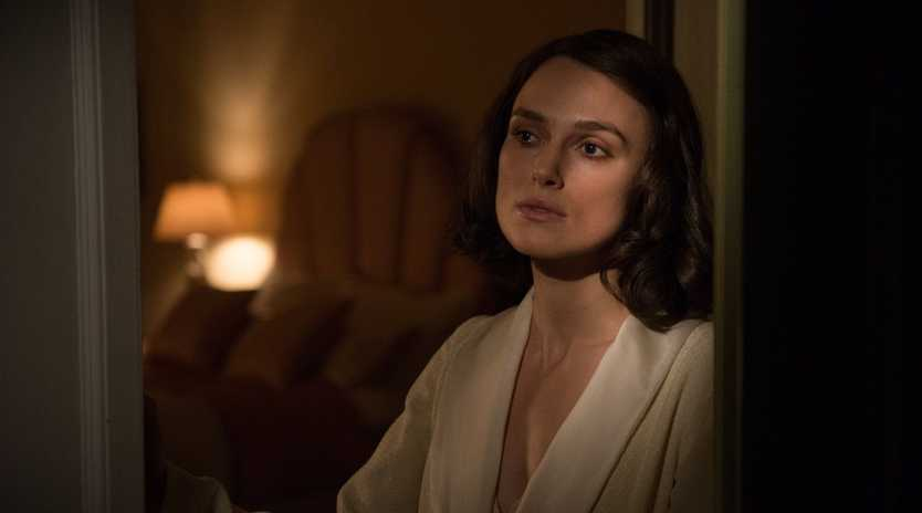 Keira Knightley in a scene from The Aftermath.