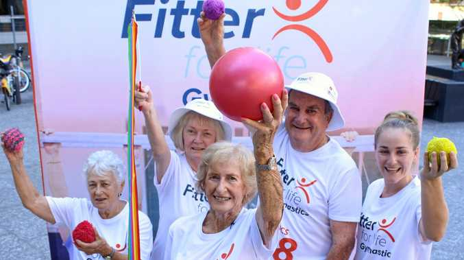 Join 86-year-old Doreen Wilson to become fit for life