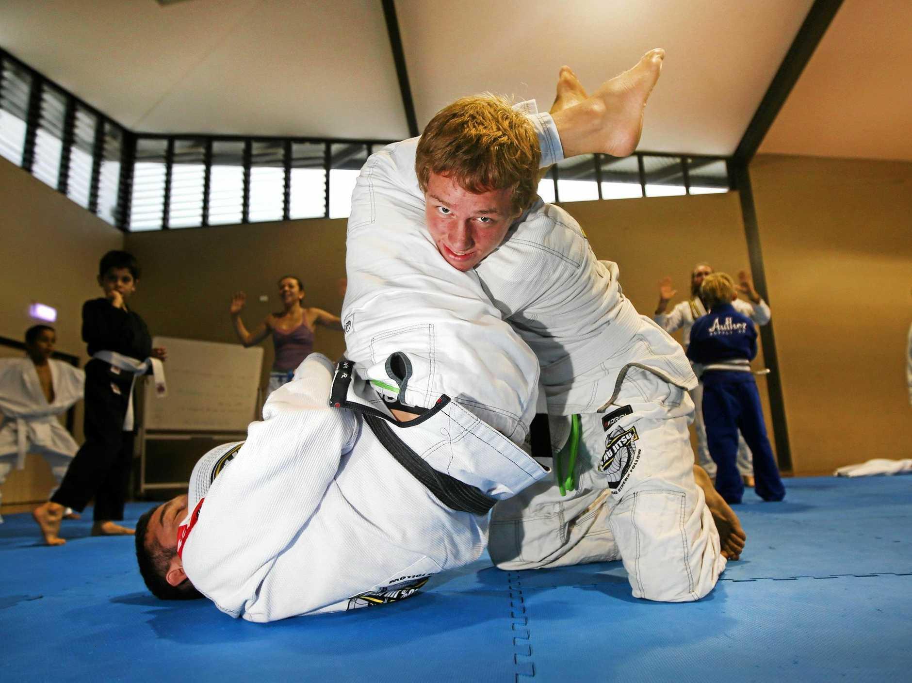 FAST LEARNER: 17-year-old Tweed competitor Hari Bhajan is a two-time Asia/Pacific Brazilian Jiu Jitsu champion.