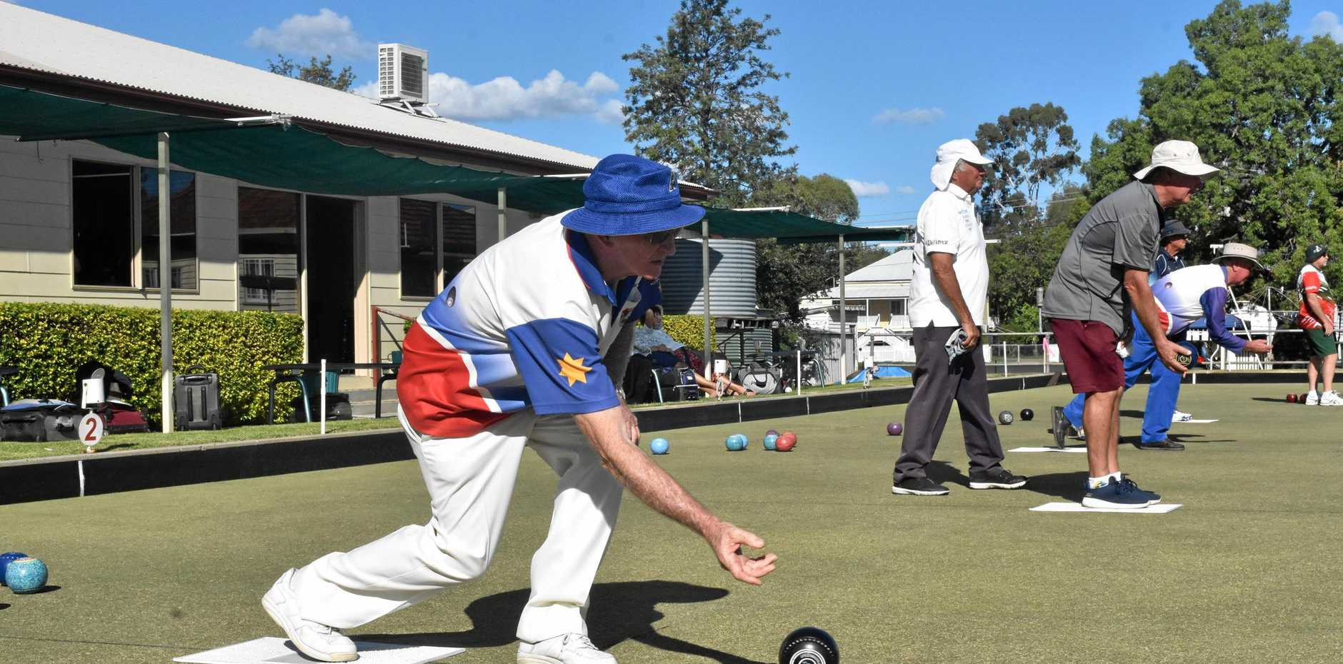 ANNUAL TOURNAMENT: Clubs from around the region gathered together for Dalby Bowls Club's annual tournament.