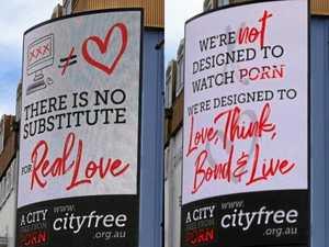 New anti-porn billboards on display in CBD