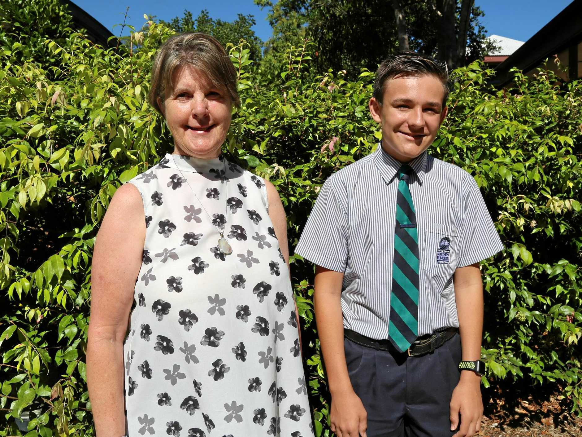 NO SOUND OF SILENCE HERE: Sounds of Flinders was initiated by college counsellor Marilyn Embelton, who has a vision impairment, and co-created by Year 9 student Charlie McMahon.