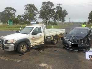 Two-vehicle crash in Kingaroy