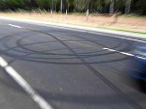 Road racing and burn-outs in Kingaroy