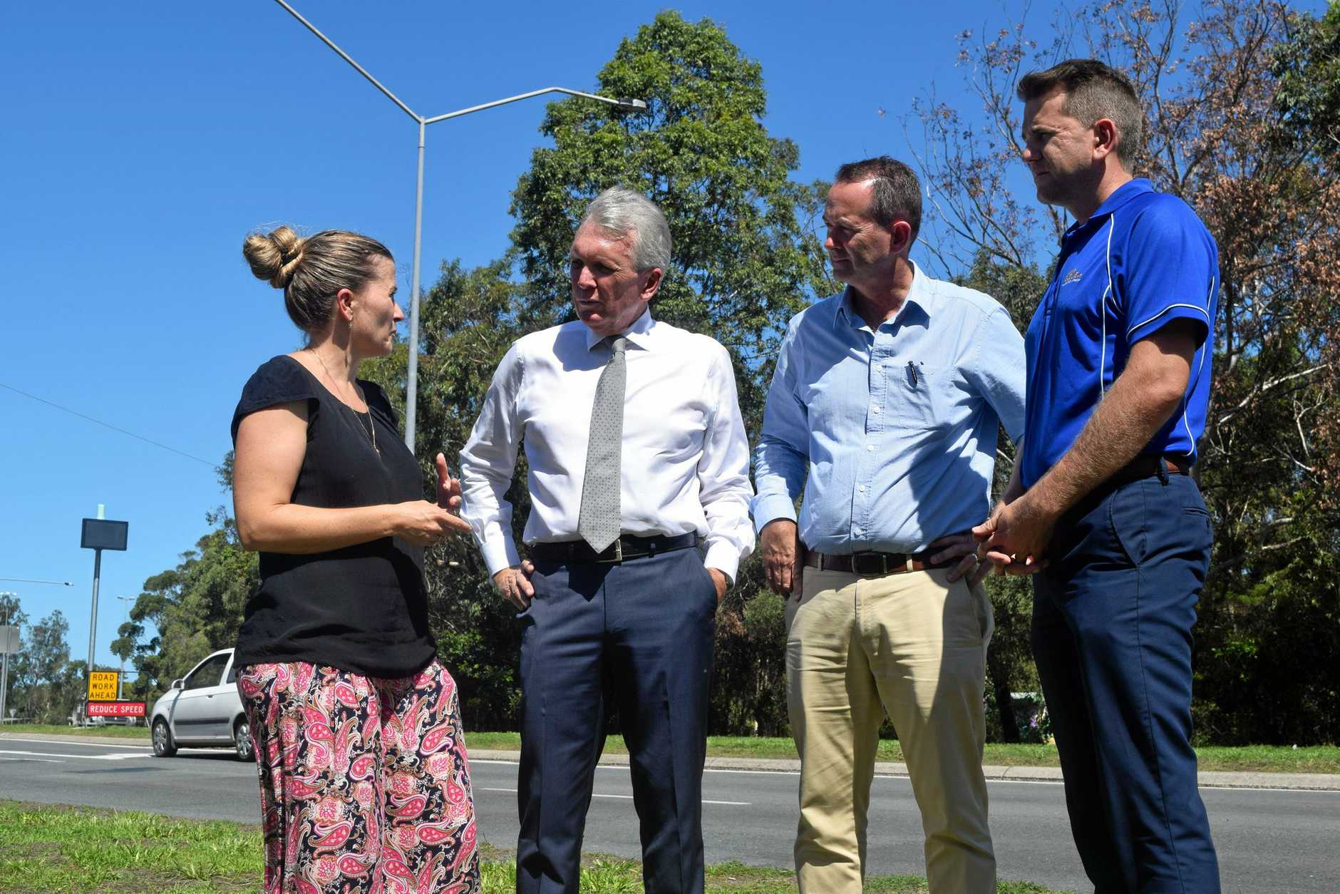 The Federal Government has pledged $5 million towards a Caloundra Road Network Planning Study to ease congestion around Caloundra and Kawana.