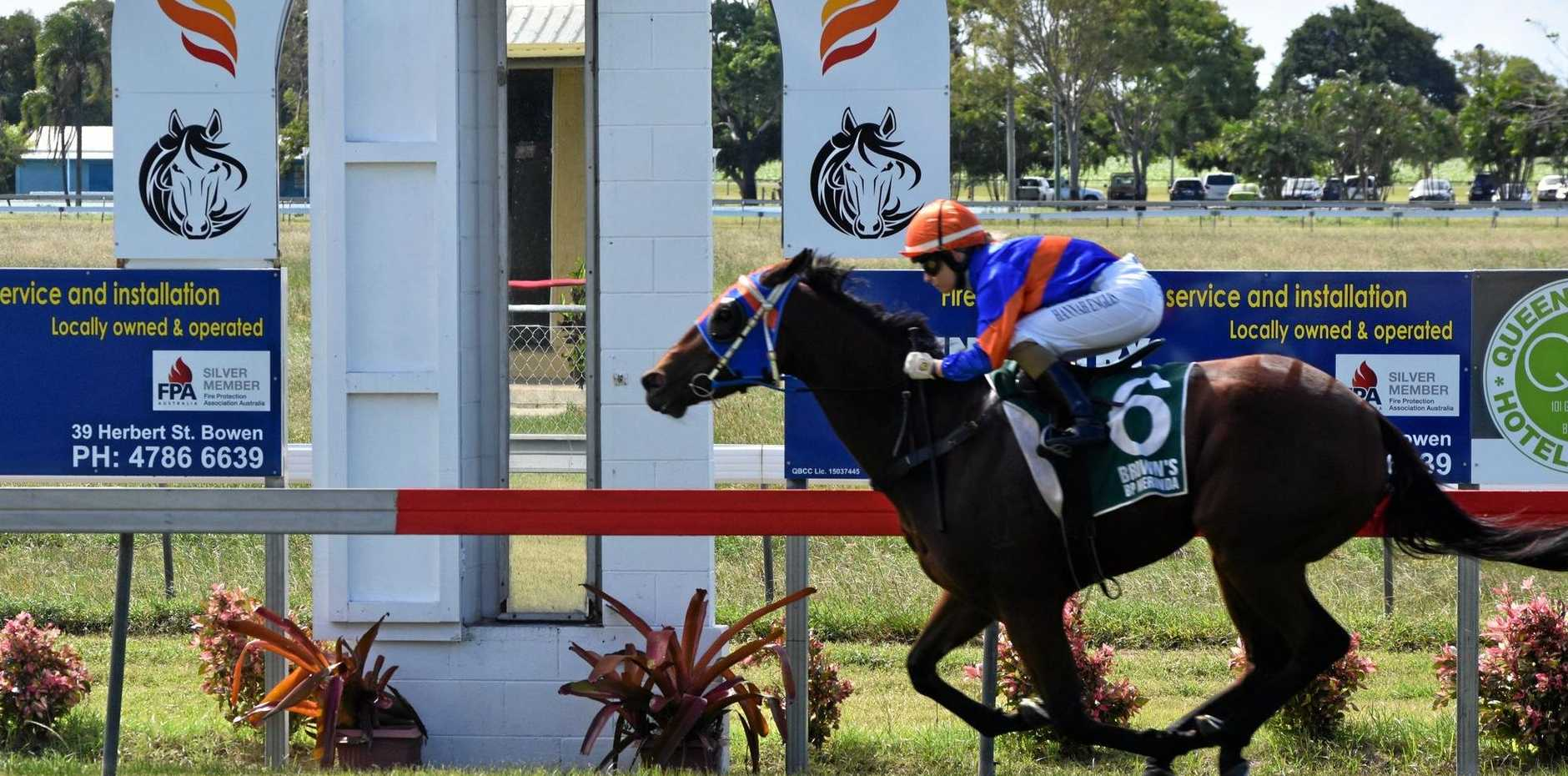 SMART TYPE: Favor of God makes light work of her maiden victory at Bowen last Saturday. She was one of four winners for Mackay trainer John Manzelmann.