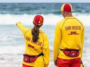 Teenage girls pulled from dangerous surf 100m from flags