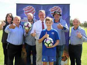 Federal funding boost shines new light on football oval