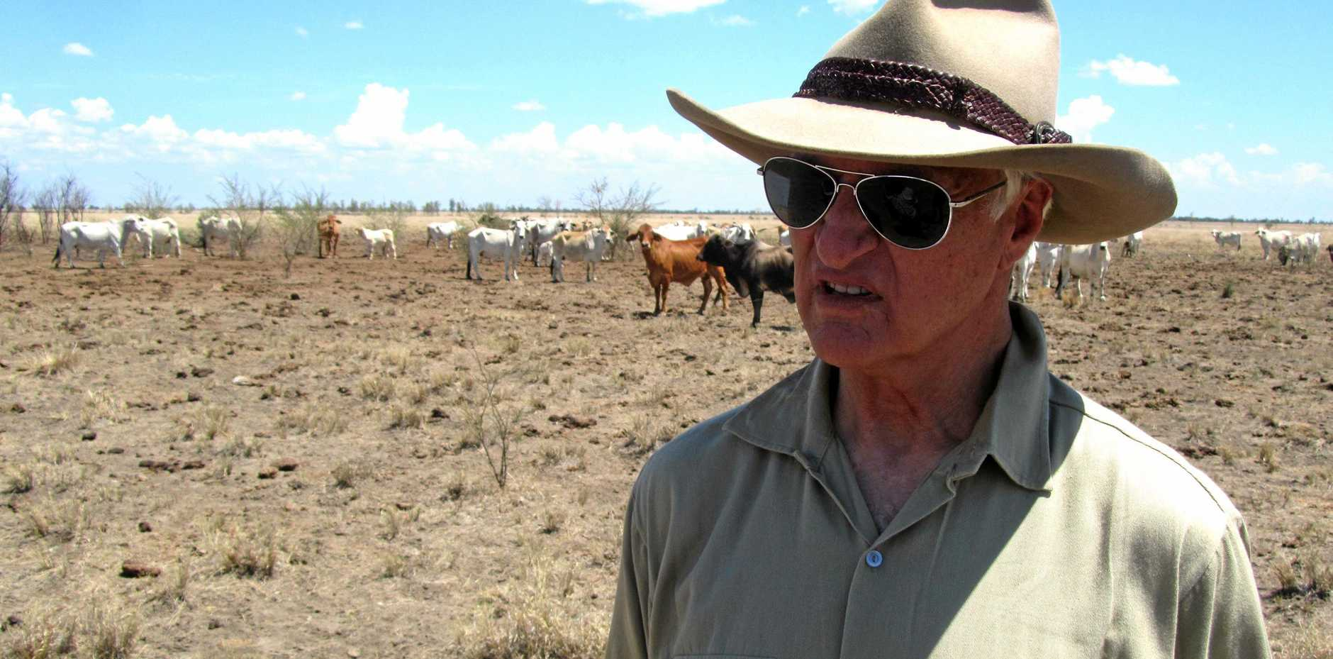 NO SALE: Federal Member for Mount Isa Bob Katter says he finds the sale of Australian agricultural assets like Cubbie Station