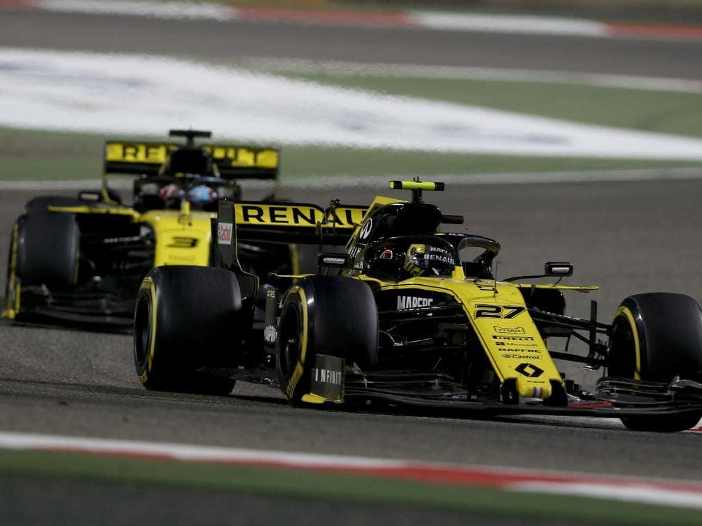 A double retirement hurt Renault in Bahrain.