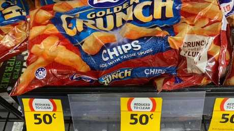 Coles has slashed the price of Birds Eye chips to just 50 cents. Only at some stores.